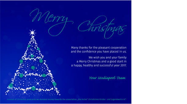 Merry Christmas – Mediapool Content Services